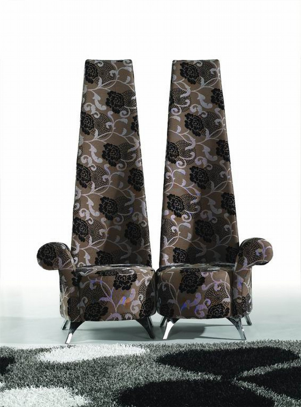Narrow High Backed Dining Chair Chair Pads Amp Cushions