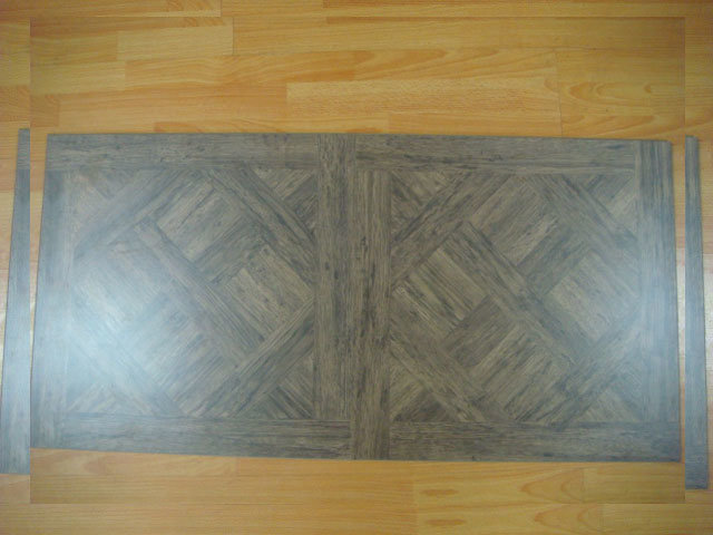 China square laminate flooring china laminate flooring for Laminate tile squares