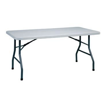 5ft Blow Rectangle Plastic Folding Table