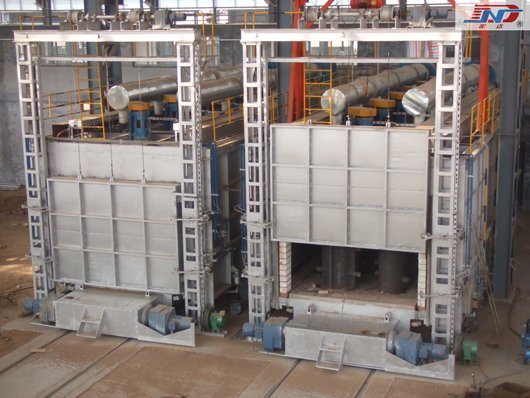 Double-Car-Bottom Tempering Furnace