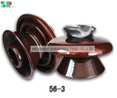 ANSI 56-3 Porcelain Pin Insulator
