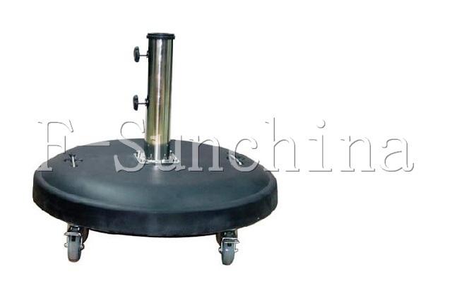 china cement umbrella base with wheels china beach base