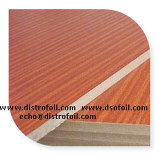 Wood Grains Hot Stamp Foil on Medium Density Board, Wood