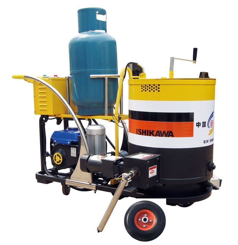 Factory Direct Sell Trail Type Asphalt Road Crack Sealing Machine