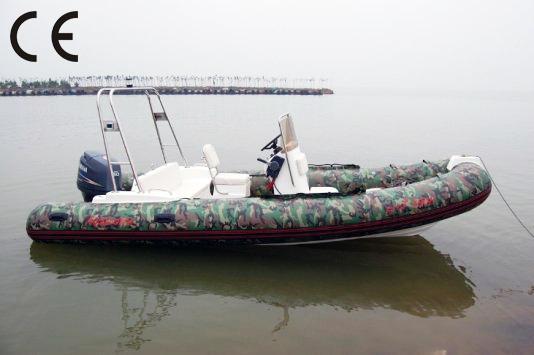 Rib580d Rescue Fiberglass Boat