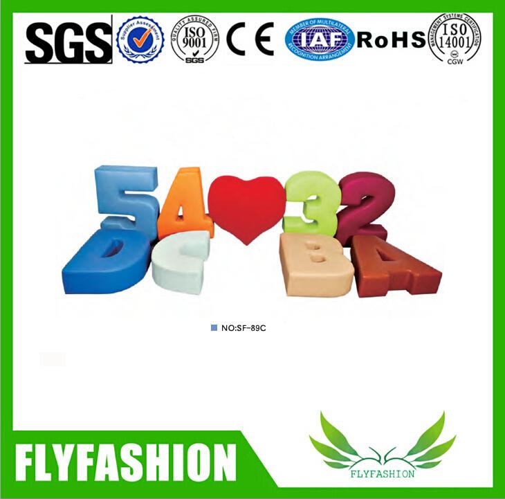 Children Mini Cute Color Kids Fabric Curved Sofa for Sale Sf-89c