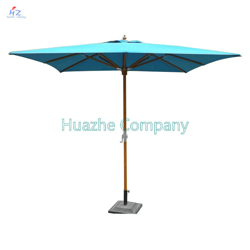 9ft (2.7m) Umbrella Beach Umbrella Patio Umbrella Outdoor Umbrella Garden Umbrella Wood Umbrella Wood Parasol