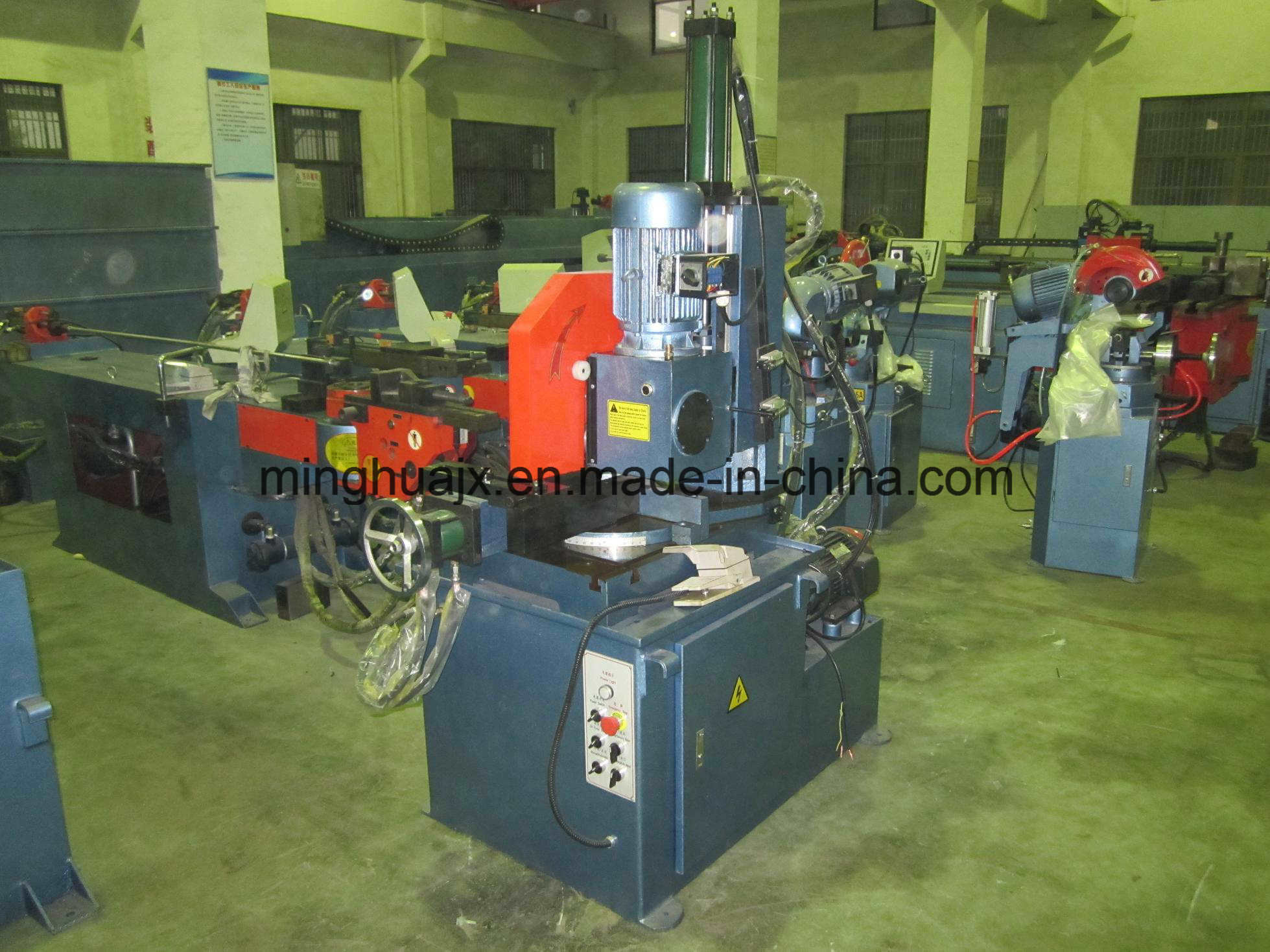 Hydraulic Semi-Automatic Pipe Cutting Machine Mc-350