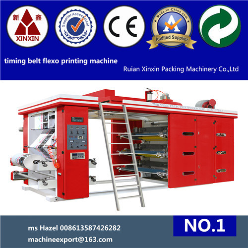 6 Color Paper Flexographic Printing Machine