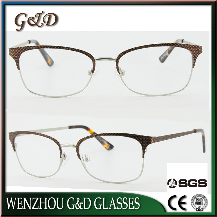 New Fashion Metal Glasses Eyewear Eyeglass Optical Frame Xd