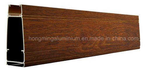 Wooden Print Windows for Aluminium Profile