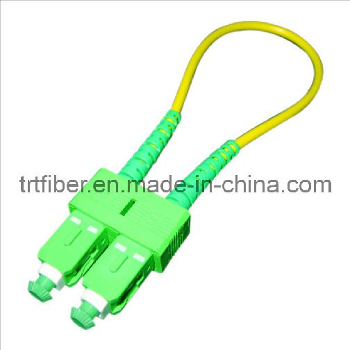 Sc Multimode Om1 62.5/125um Duplex Fiber Optic Patch Cord