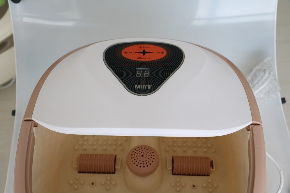 Foot Bath Massager Properties with Heating Function