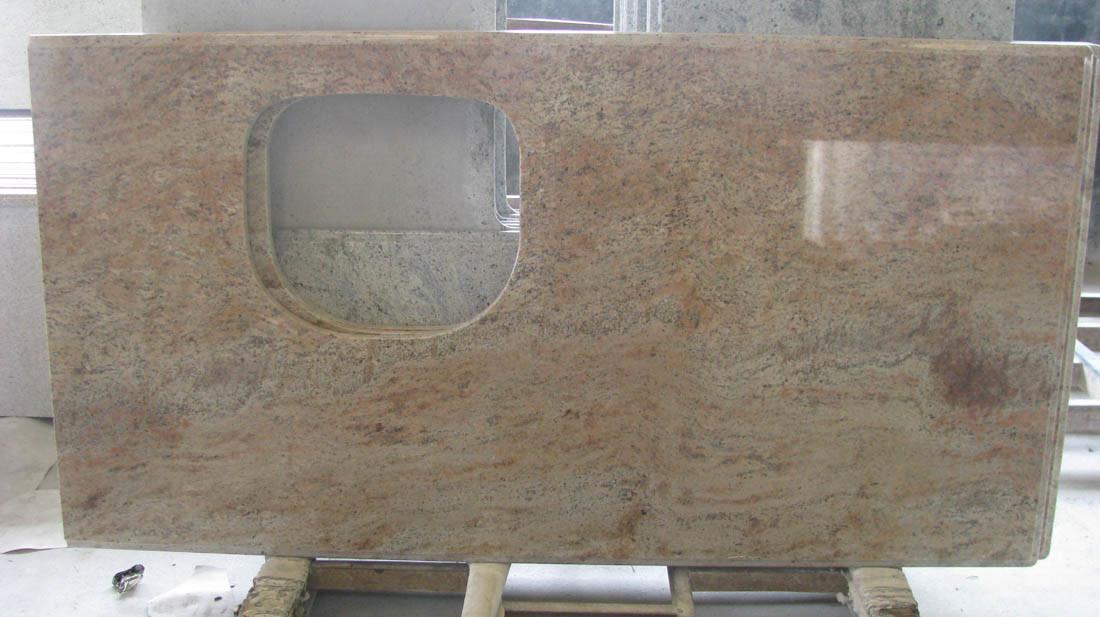China granite marble quartz stone vanity top and kitchen countertop g682 g640 g664 g603 for Premade granite bathroom vanity tops