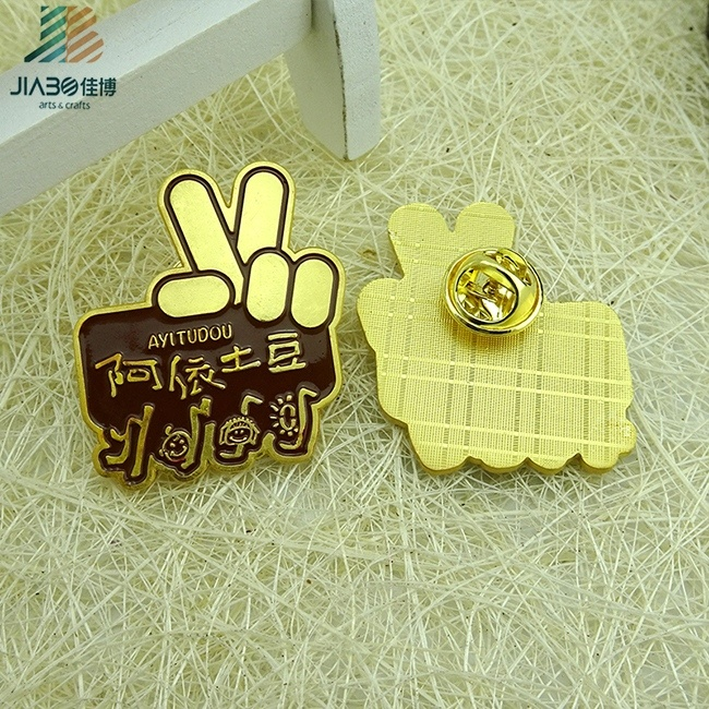 Factory Direct Custom Designed Promotion Metal Badge