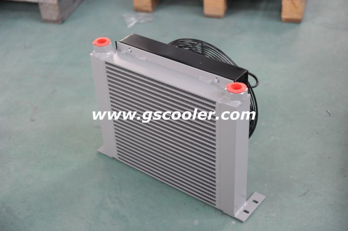 Aluminum Oil Cooling System for Hydraulic System