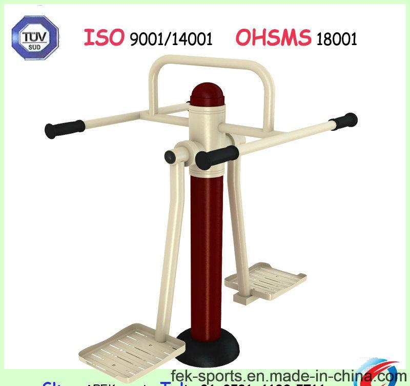 140mm Stepper Galvanized Outdoor Fitness Equipment