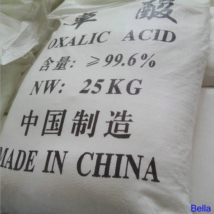 99.6%Min Industrial Grade Standard Oxalic Acid Factory