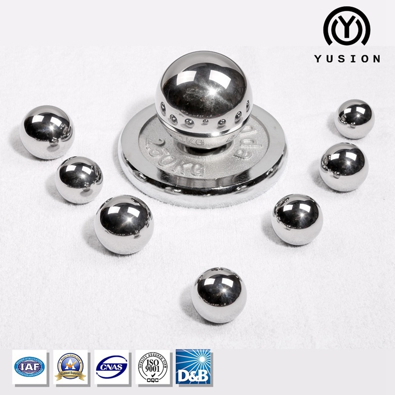 "Yusion AISI52100 100cr6 Gcr15 Suj-2 G10 3""/16""~6""Chrome Bearing Steel Ball"