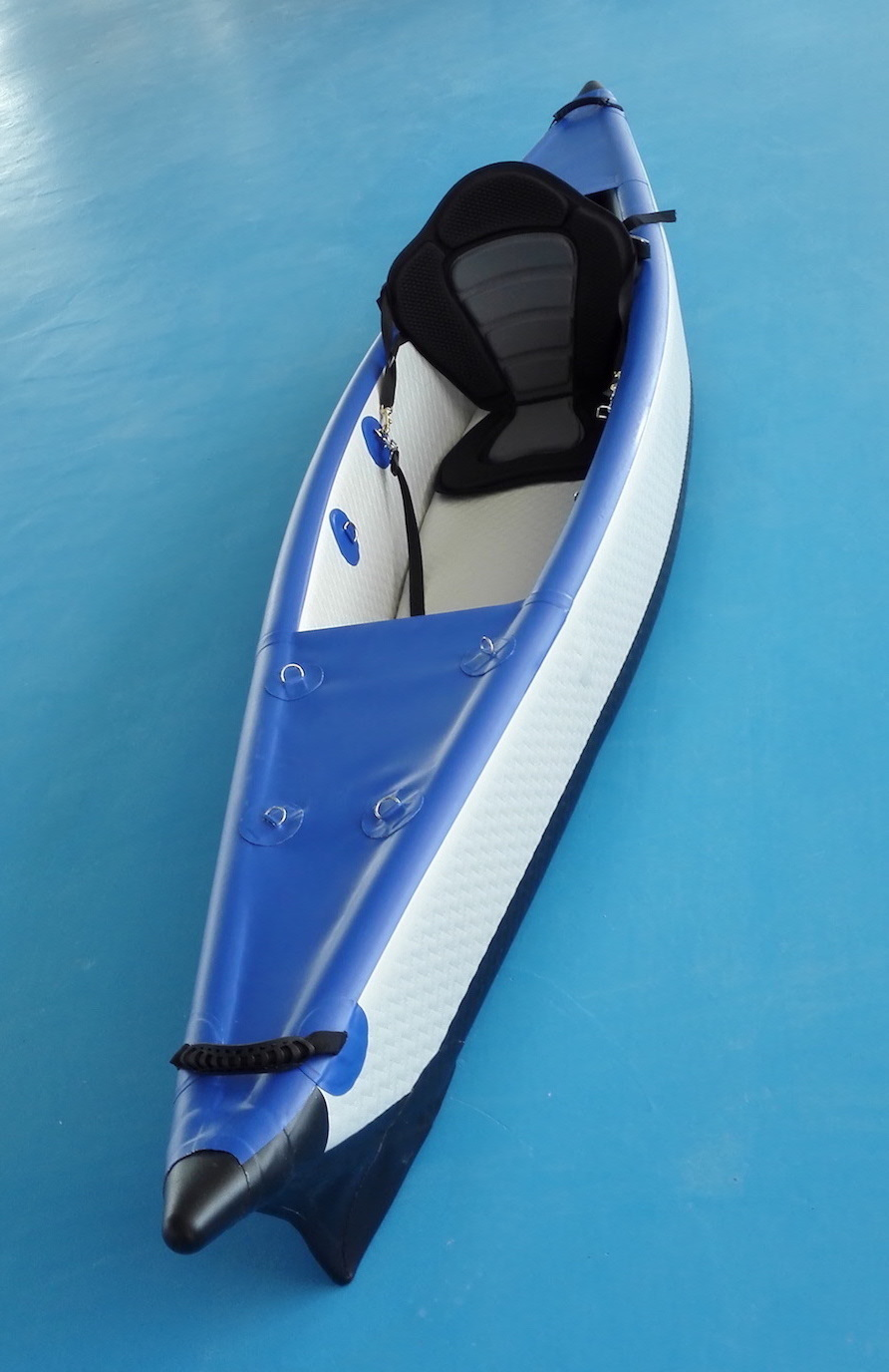 Inflatable Drop Stitch Kayak, Sit on Top Ocean Kayak