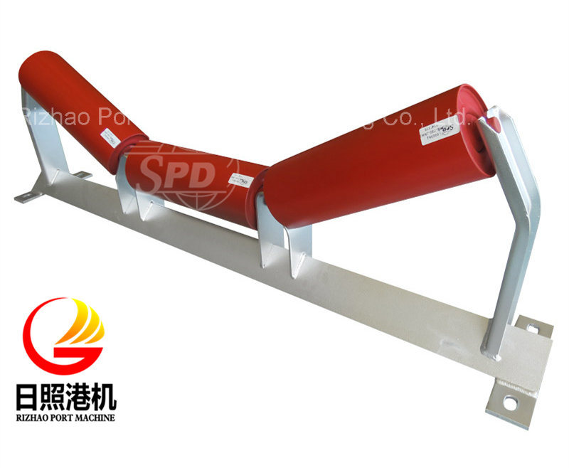 SPD Galvanized Conveyor Roller Frame for Belt Conveyor System