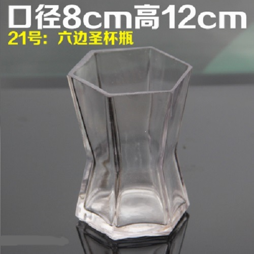 Creative Glass Bottle Flower Microlandschaft Art for Decoration