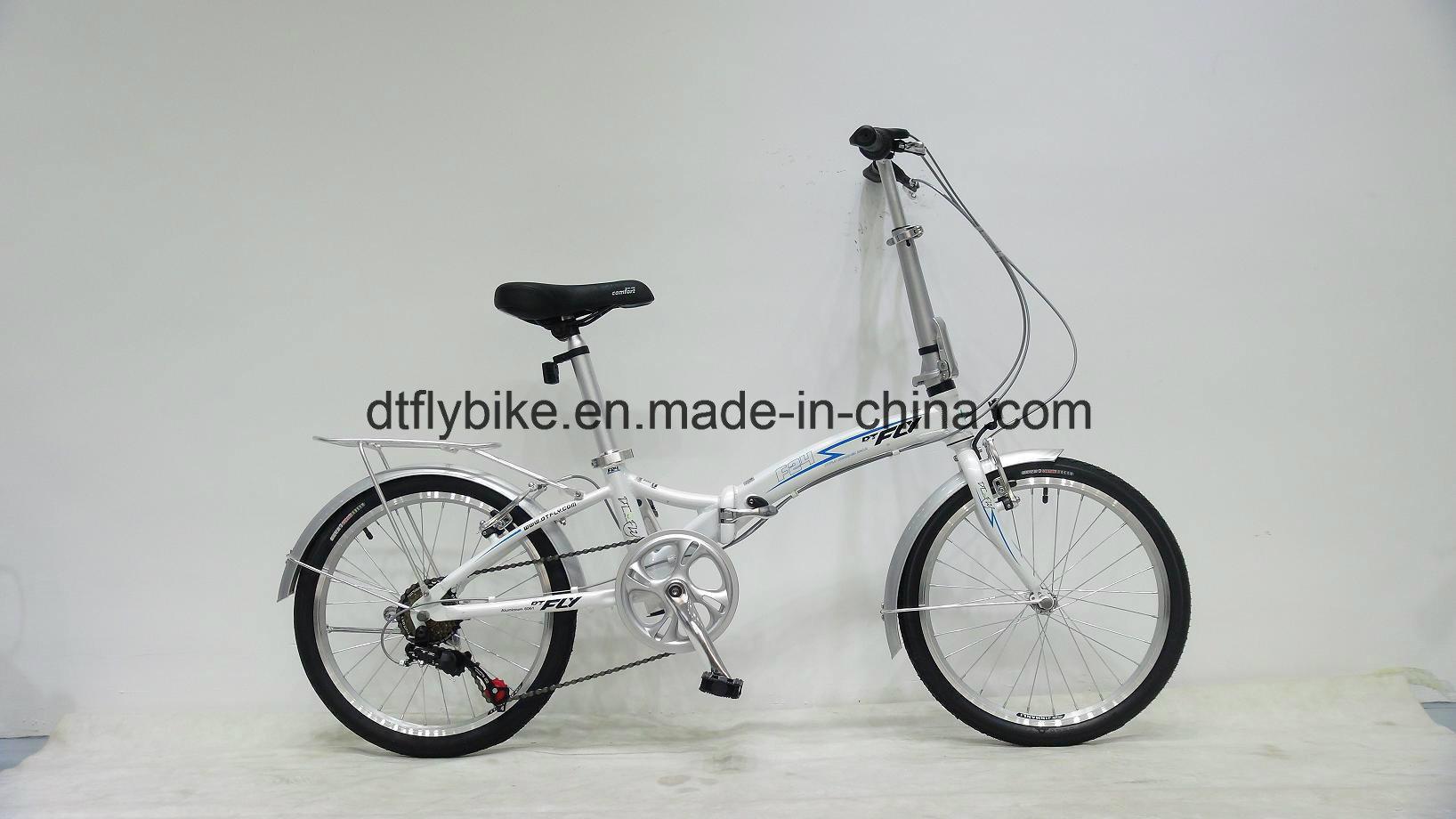 "Bike: 20"" Folding Bike, F24, 6s"