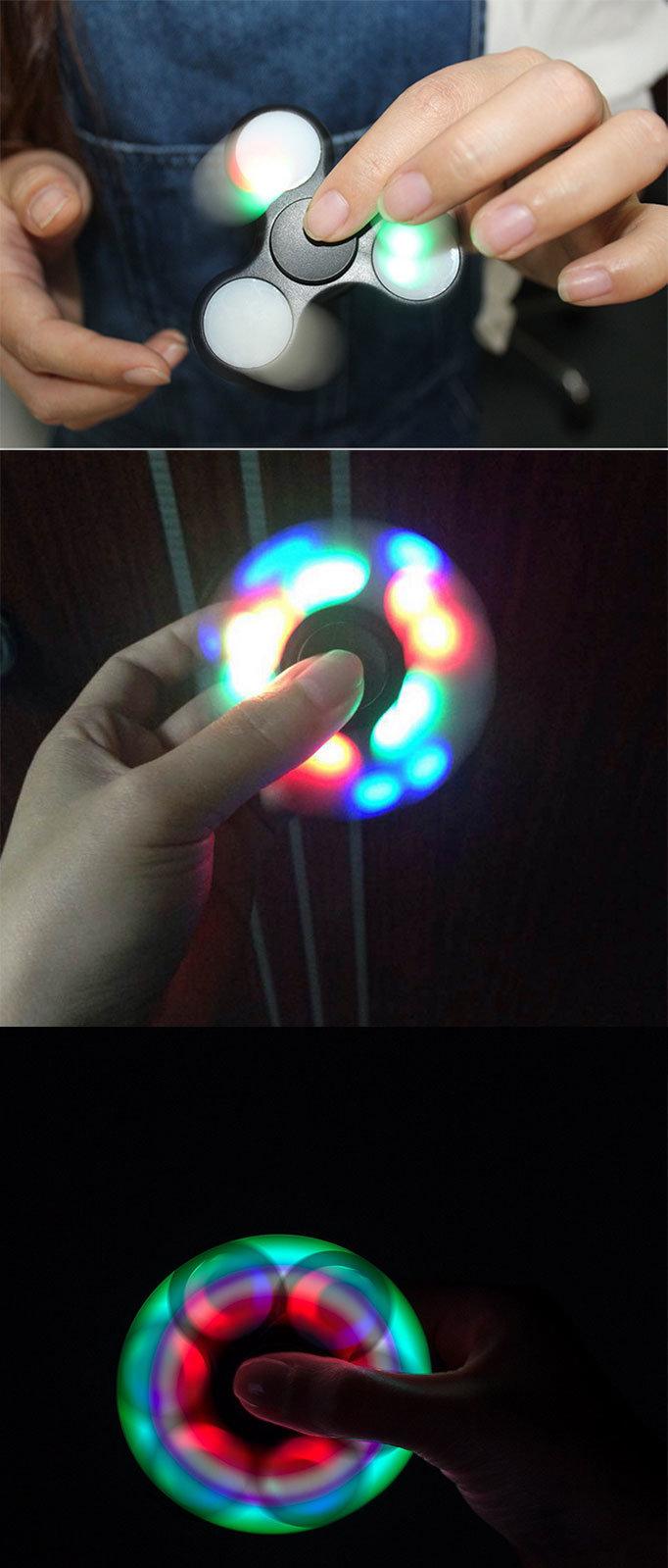 LED Light up Spinner Fidget Toy