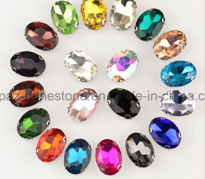 Rhinestone Sew on Jewels Sew on Setting Rhinestone (SW-Drop 13*18mm)