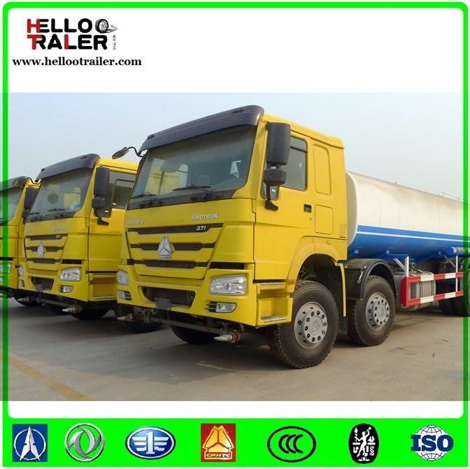 China 25000L Fuel Tank Truck Sinotruk 6X4 Heavy Fuel Tank Truck