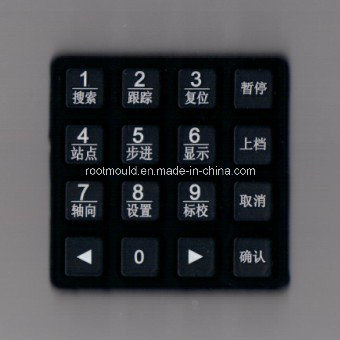 Silicone Rubber Key Pad Mould