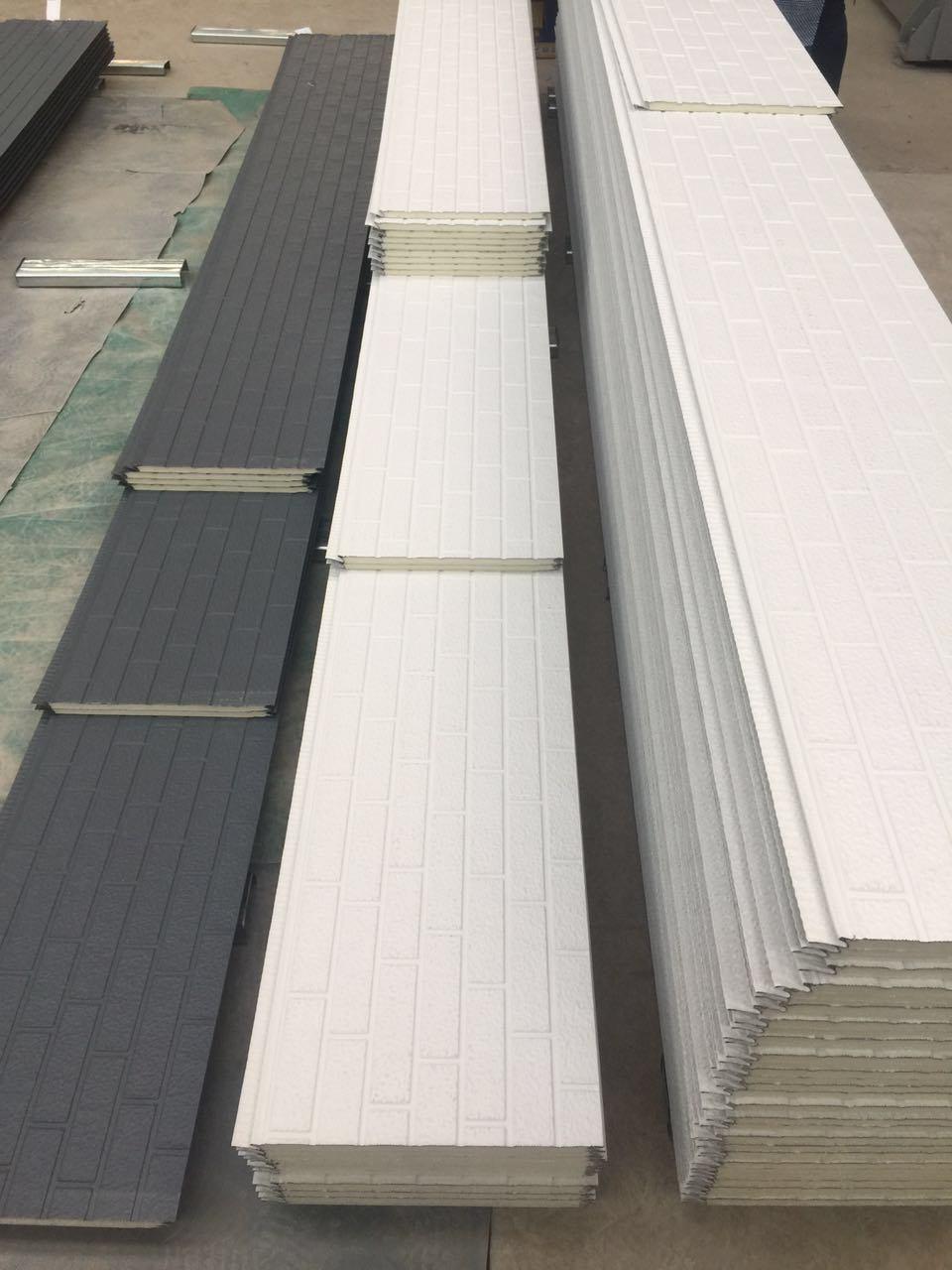 Metallic Sheet Surface Decorative Insulating Sandwich Panel