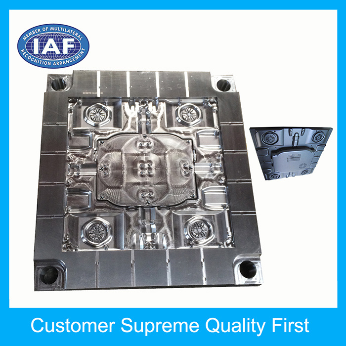 Custom ABS Large Display Rear Shell Plastic Injection Molding