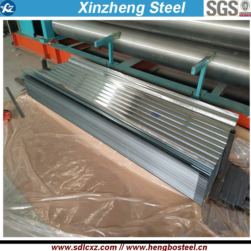 Galvanized or Aluzinc Roofing Sheet Long Span Prepainted Roofing Sheet