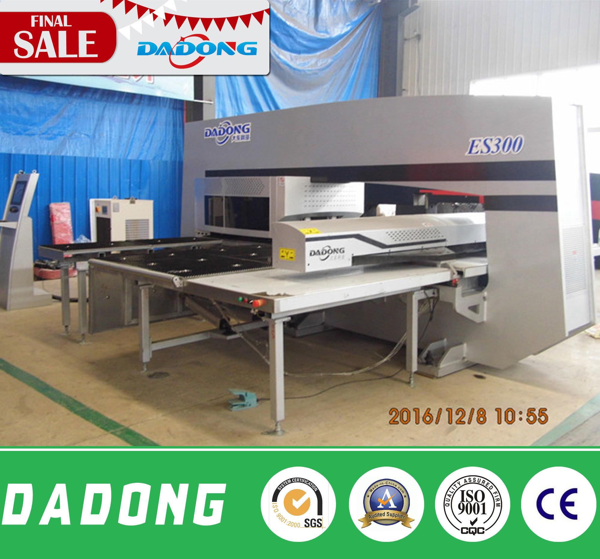 ES300 CNC Turret Punching Machine for Sheet Metal Plate Price