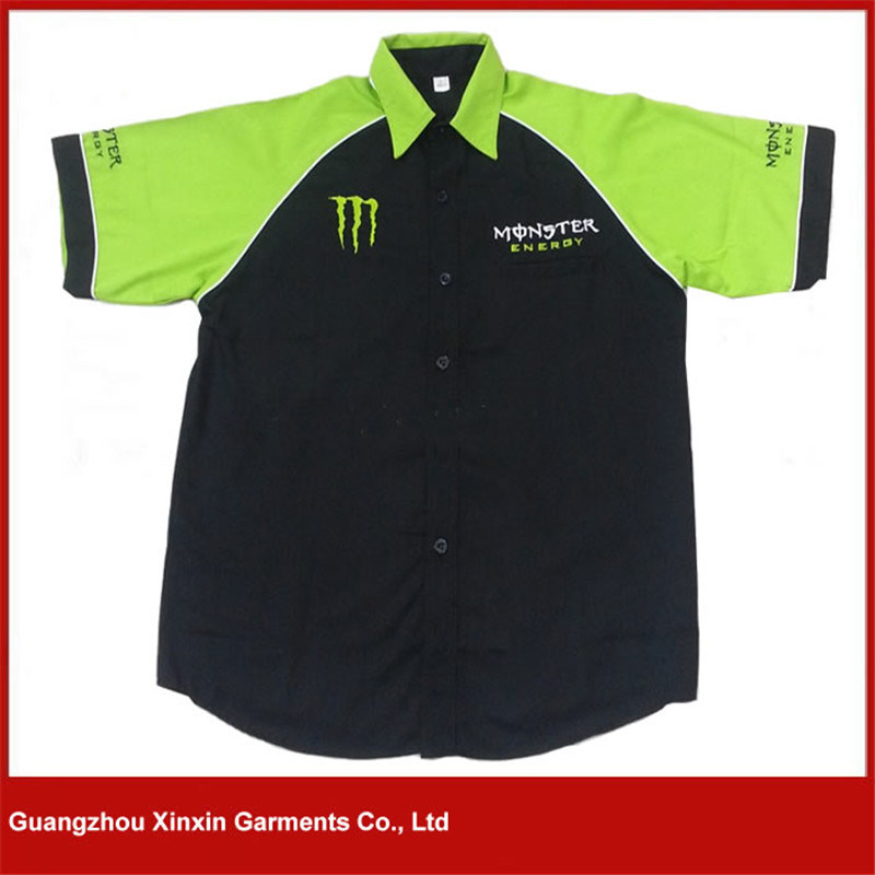 OEM Wholesale Tc F1 Short Sleeve Motorcycle Racing Shirts for Sports (S119)