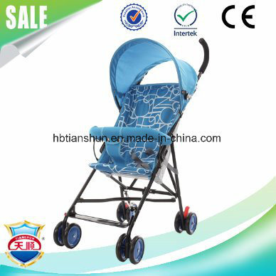 Four Colors New Upgrade Simple and Easy Baby Stroller