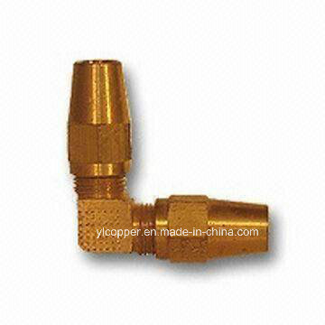 Ca360/377 Brass Elbow for Copper Air Brake Tube Applications