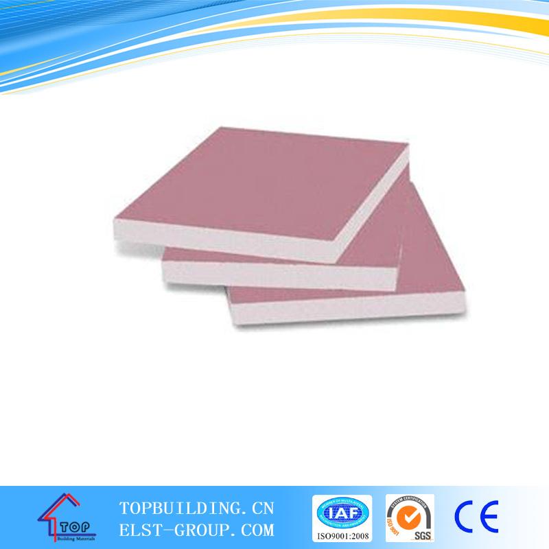 Gypsum Board-Fireproof/Fireproof Gypsum Board/Gypsum Board 1220*2440*15mm