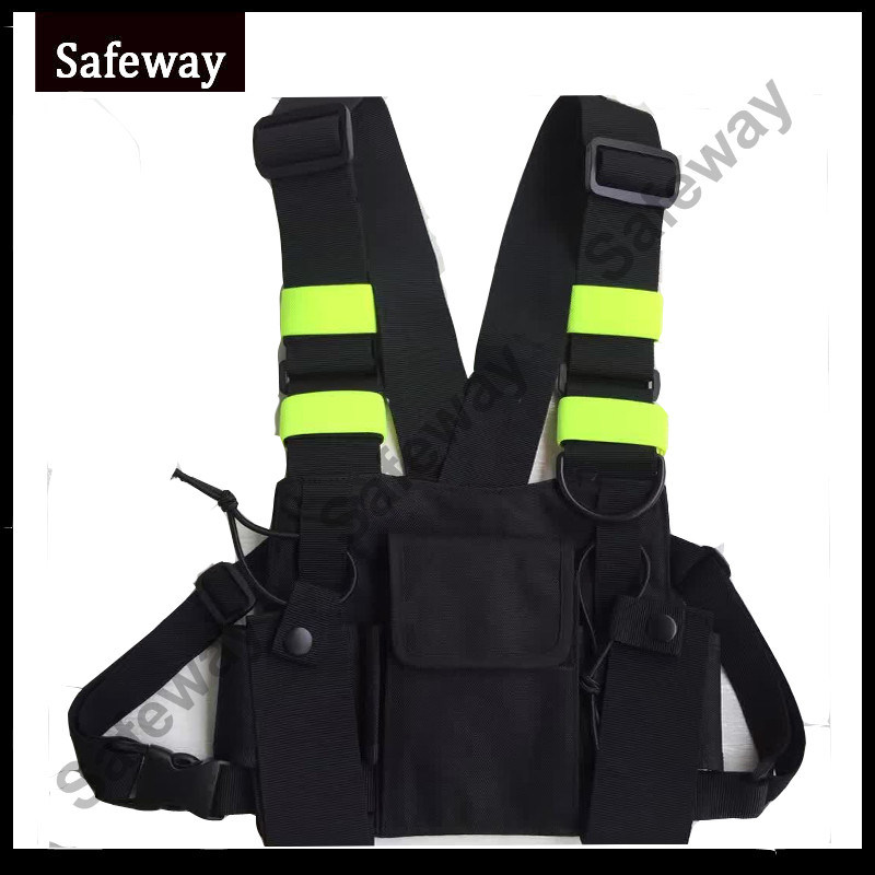 New Two Way Radio Backpack Bag for Baofeng UV-5r Bf-888s