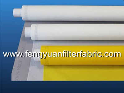 Polyester / Nylon Silk Printing Screen Mesh Belt / Cloth