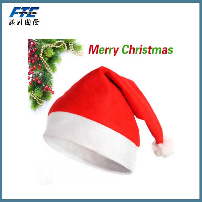Excellent Quality Christmas Decoration Part Mini Santa Hat