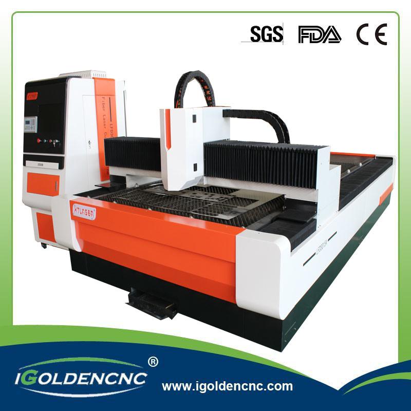 Metal Laser Cutting 500W 1000W Germany Ipg Fiber Laser Cutting Machine for Metal Cutting
