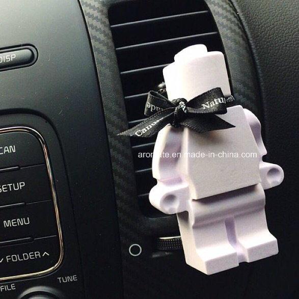 Promotional Scented Ceramic Car Decorative Air Freshener (AM-55)