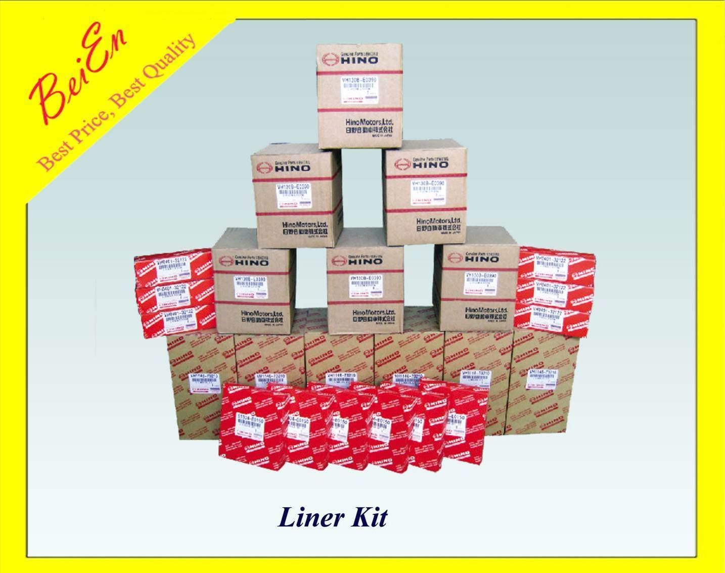 High Quality Liner Kit for Hino Excavator Engine