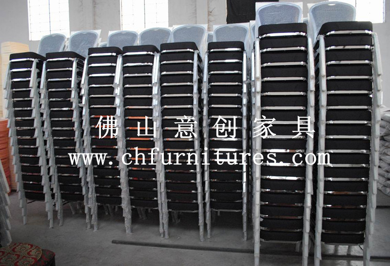 Good Quality Stacking Metal Restaurant Aluminum Chair - Hotel Banquet Furniture (YC-B70)