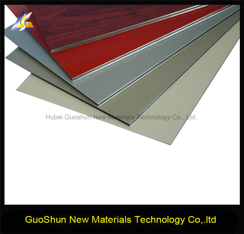 Colorful Coating Decoration Material Aluminum Wall Panel