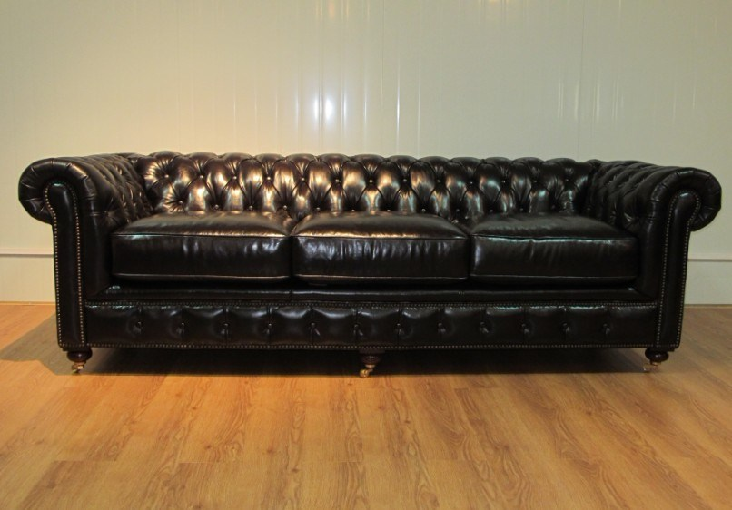China Luxury Living Room Chesterfield Leather Sofa Set Photos Pictures Made In
