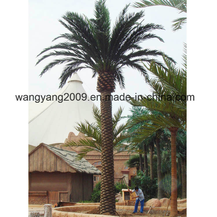 Outdoor Large Decorative Plastic Artificial Date Palm Tree