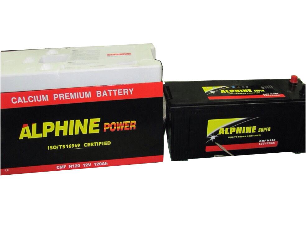 Mf Battery/ Maintenance Free Car Battery/N120 12V120ah JIS Battery